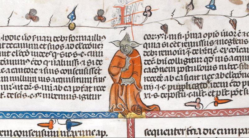 medieval yoda
