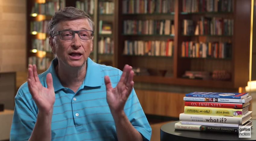 Six Books (and One Blog) Bill Gates Wants You to Read This Summer