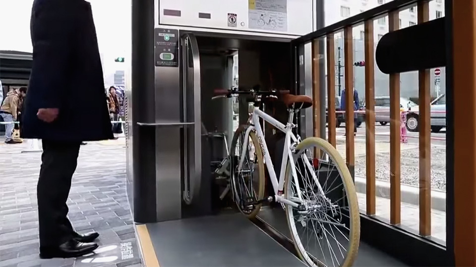 Discover Japan S Earthquake Proof Underground Bike Storage
