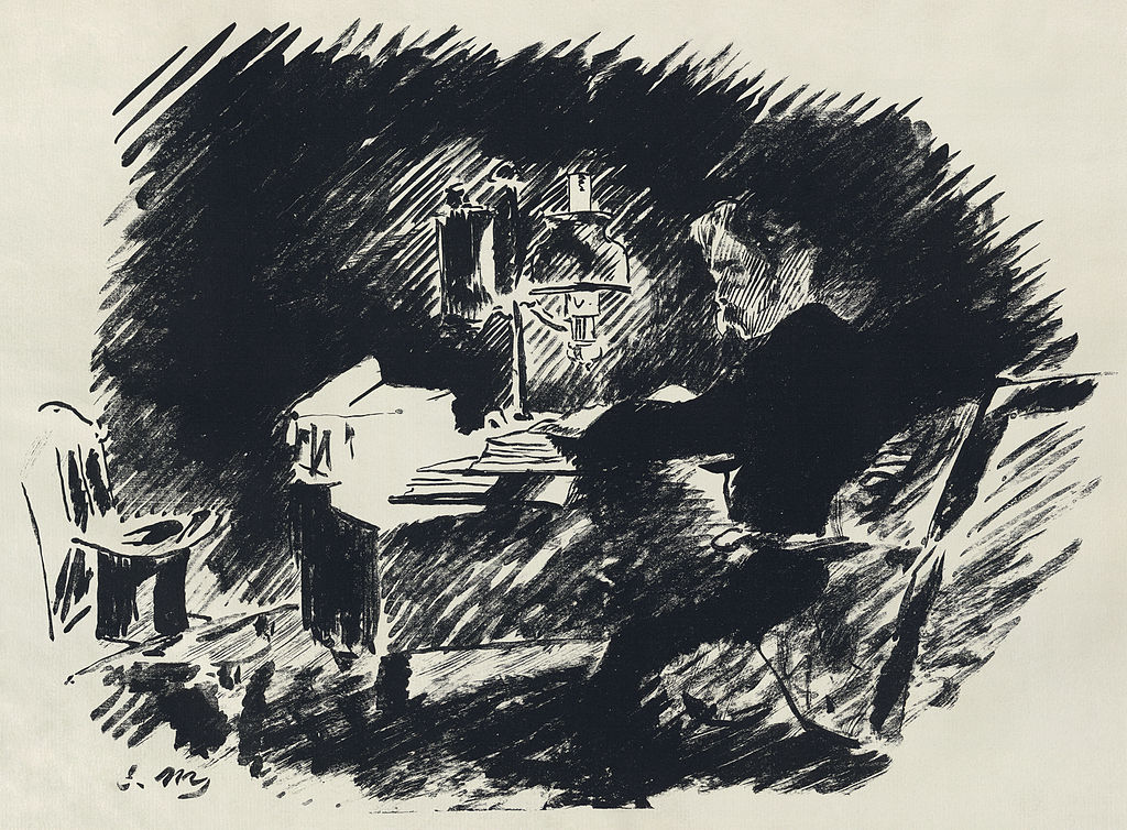 Édouard Manet Illustrates Edgar Allan Poe's The Raven, in a French ...