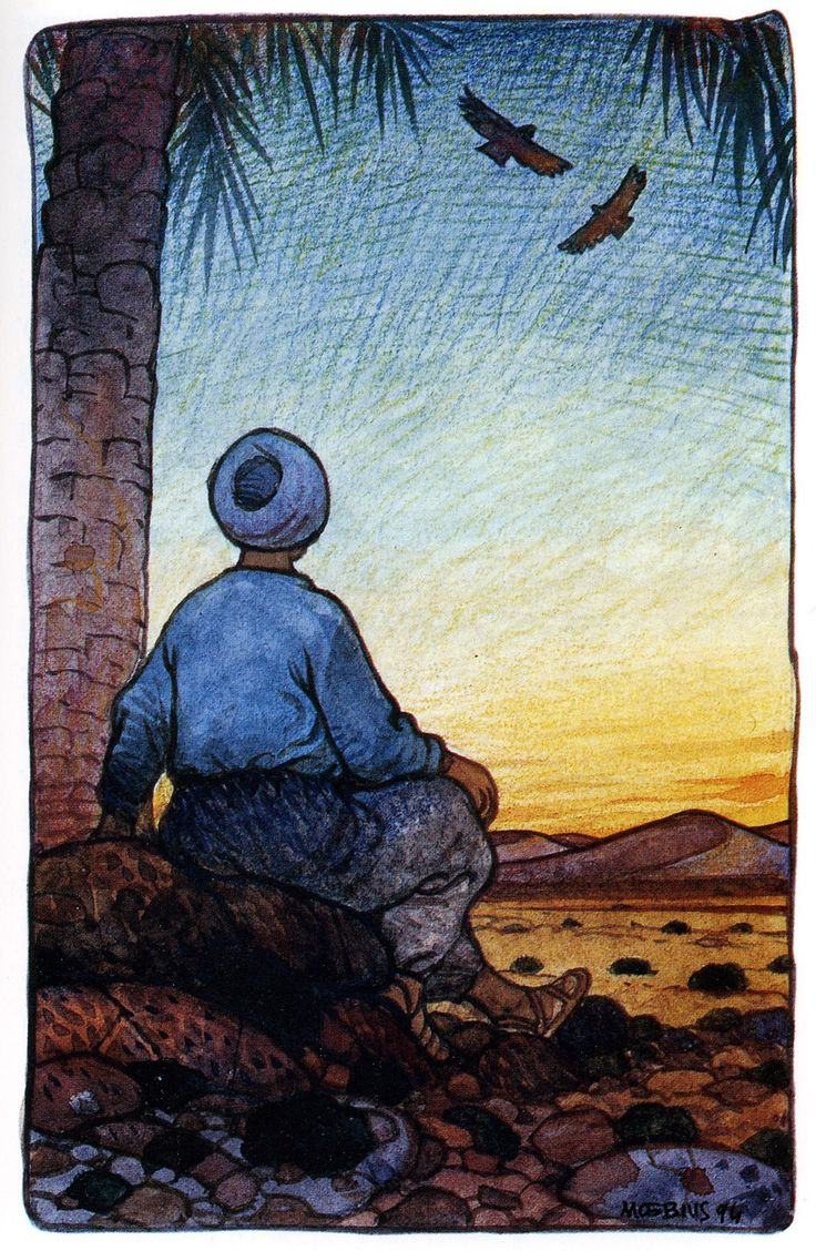 18bf0efe5b601c Mœbius Illustrates Paulo Coelho s Inspirational Novel The Alchemist ...
