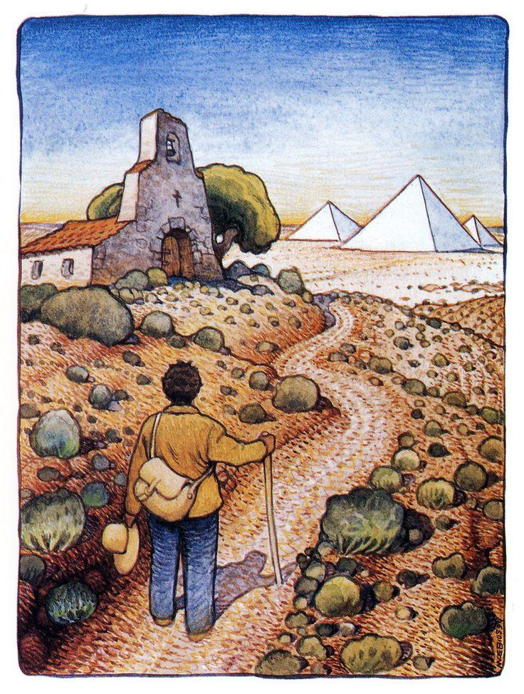 moebius illustrates paulo coelho s inspirational novel the  moebius alchemist 2