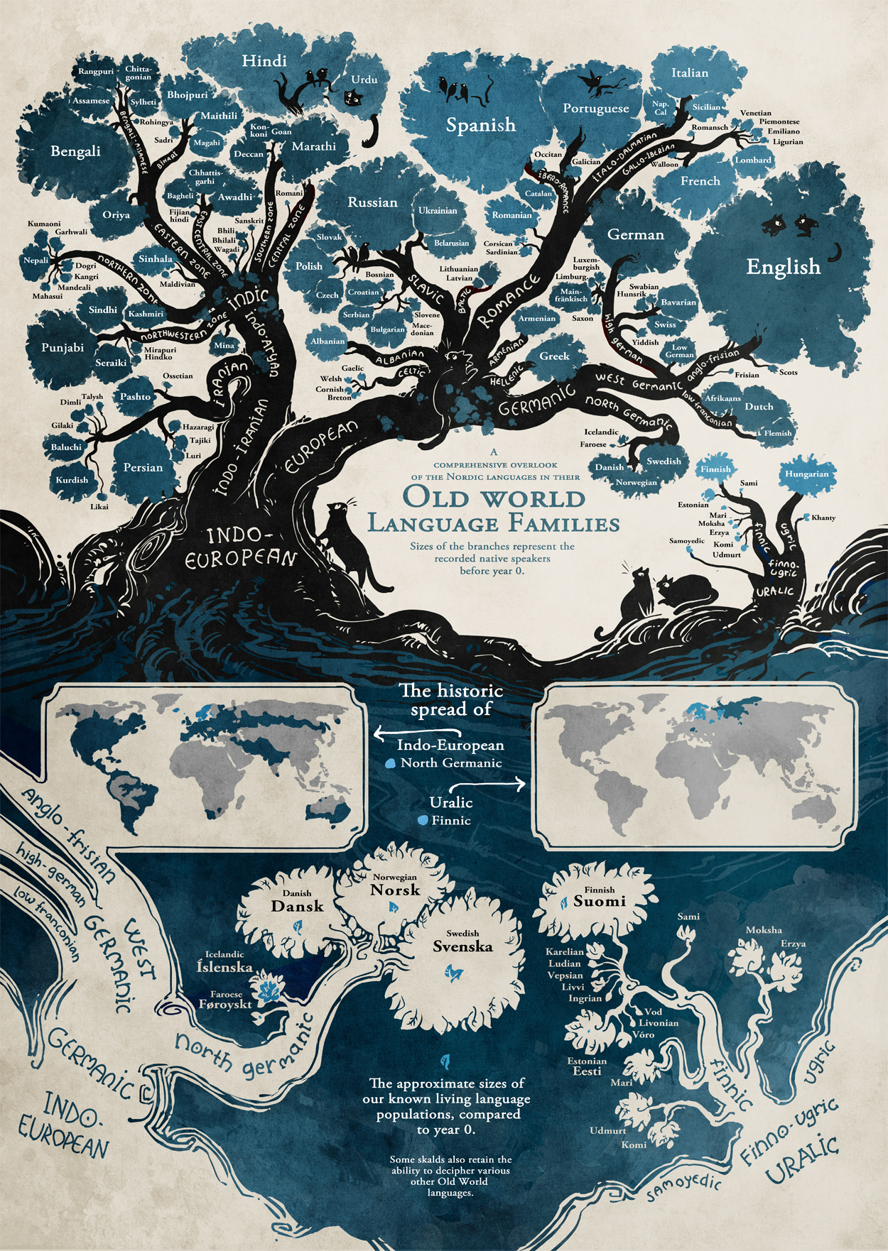 Language Infographic