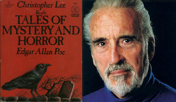 Christopher Lee Reads ...