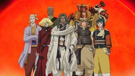 Samurai 7 Anime Characters : Samurai an anime adaptation of akira kurosawa s seven