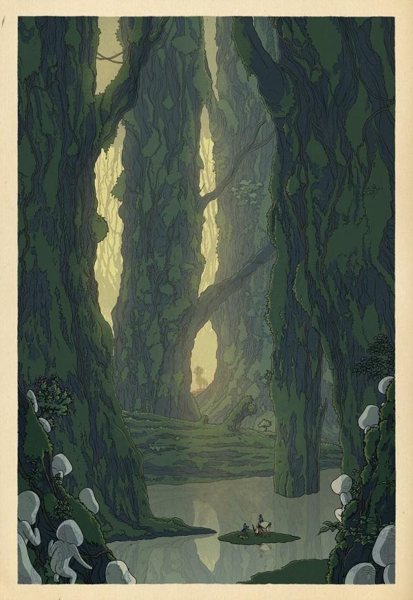 Woodcarving-Mononoke