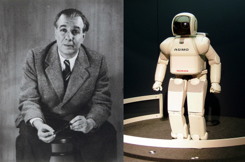 borges robot poetry