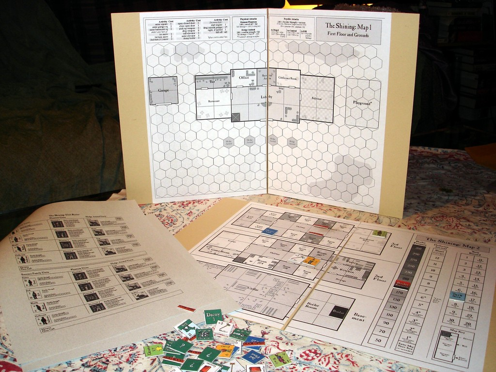 Download & Play The Shining Board Game