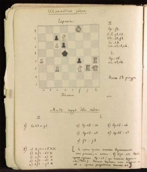 Nabokov Chess Problem