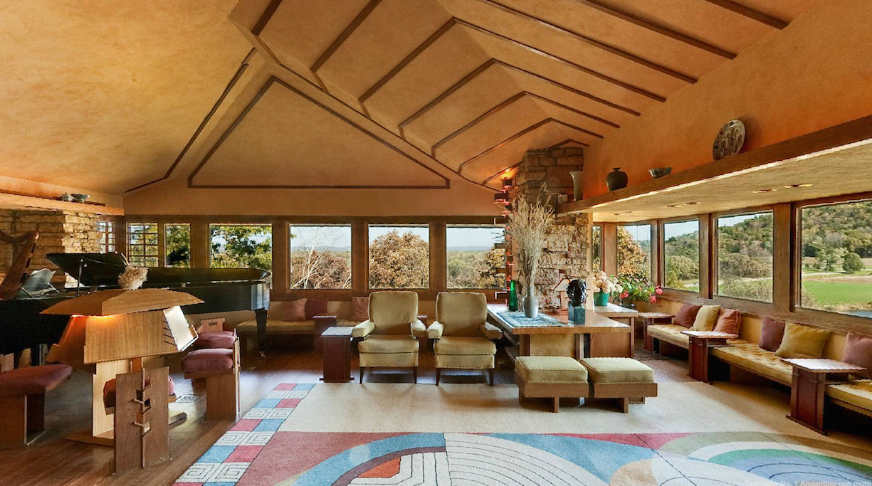 Take a 360° Virtual Tour of Taliesin, Frank Lloyd Wright's ...