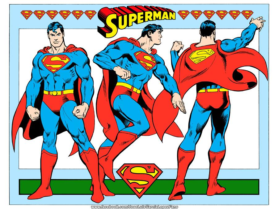 Superman superhero style building. The dc comics guide
