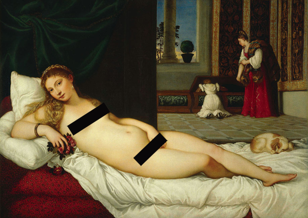 Censored Titian