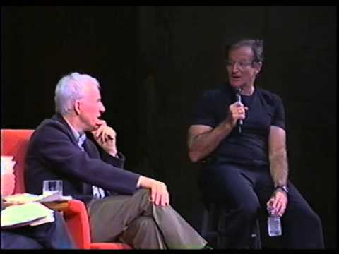 Steve Martin & Robin Williams Riff on Math, Physics, Einstein & Picasso in a Heady Comedy Routine (2002)