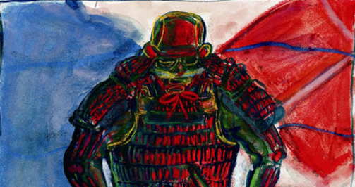 Akira Kurosawa Painted the Storyboards For Scenes in His Epic Films: Compare Canvas to Celluloid