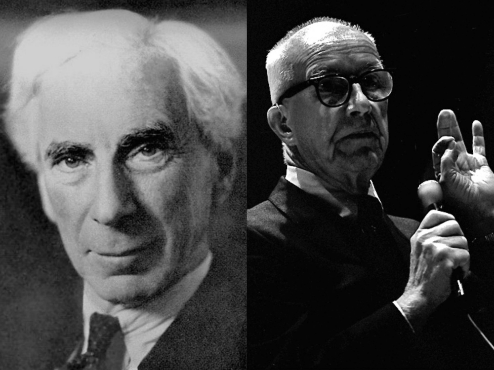 Bertrand Russell & Buckminster Fuller on Why We Should Work Less, and Live & Learn More
