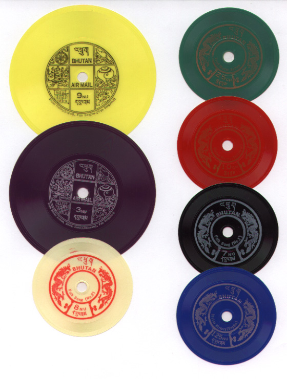 Bhutan_record_stamps