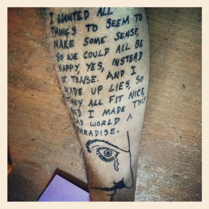 Vonnegut Tattoos 24