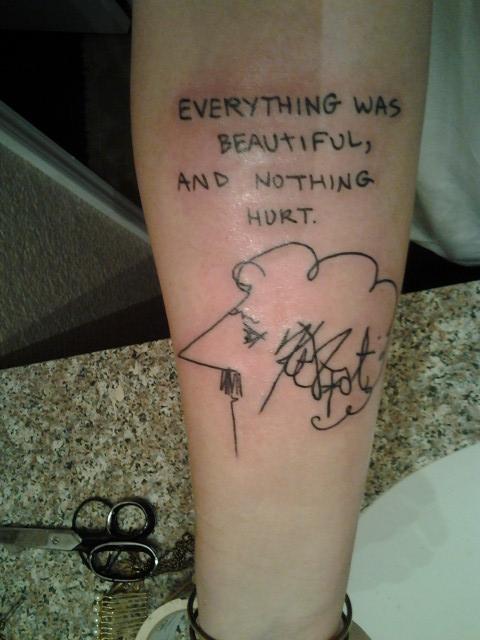 Vonnegut Tattoos 7