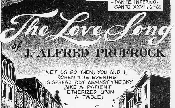 the lovesong of j alfred prufrock The love song of j alfred prufrock was ts eliot's first important publication  and it has often been called the first masterpiece of modernism in english.
