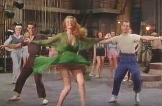 rita hayworth dance