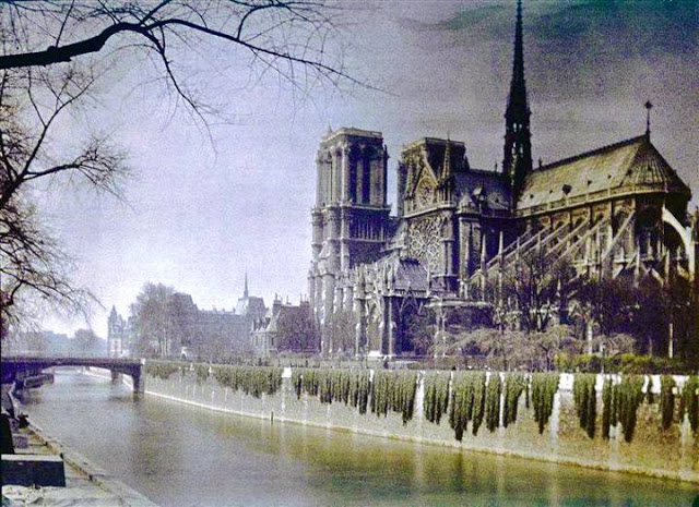 Beautiful, Color Photographs of Paris Taken 100 Years Ago—at the Beginning of World War I & the End of La Belle Époque