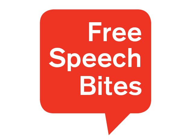 free speech bites