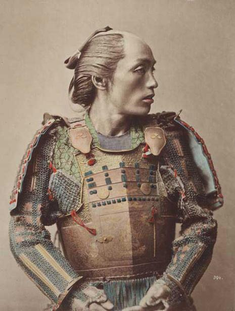 samurai in color