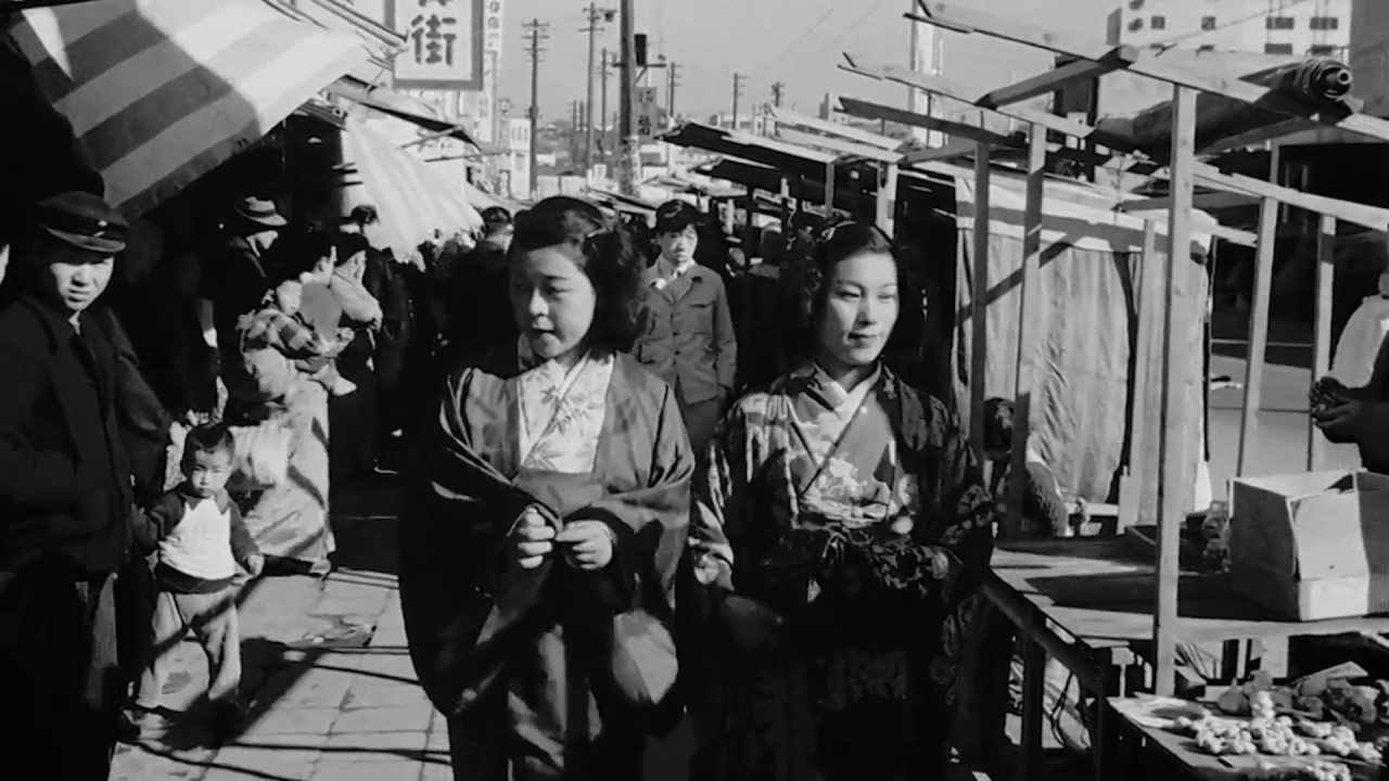 Time Travel Back to Tokyo After World War II, and See the City in Remarkably High-Quality 1940s Video