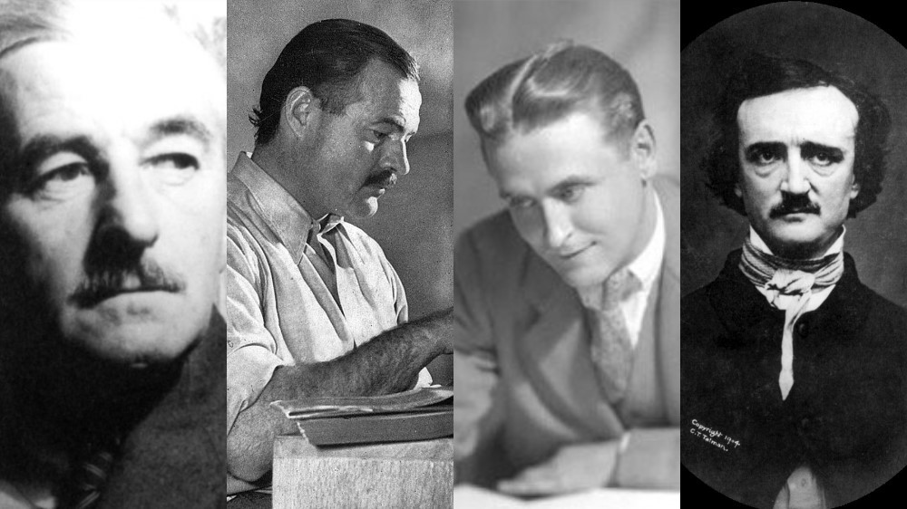 Faulkner Hemingway Fitzgerald Poe