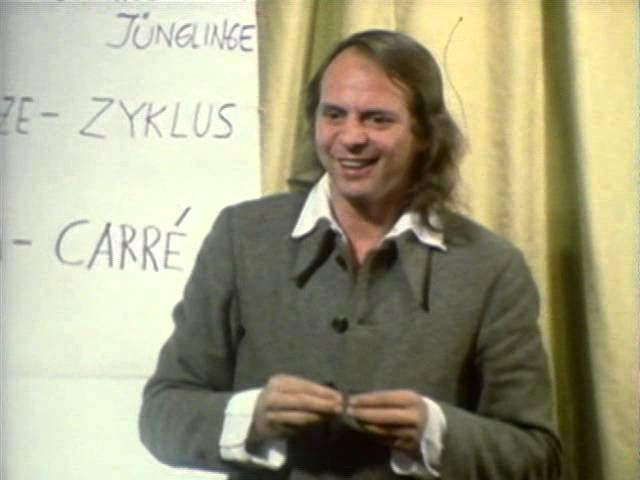 """Pioneering Electronic Composer Karlheinz Stockhausen Presents """"Four Criteria of Electronic Music"""" & Other Lectures in English (1972)"""