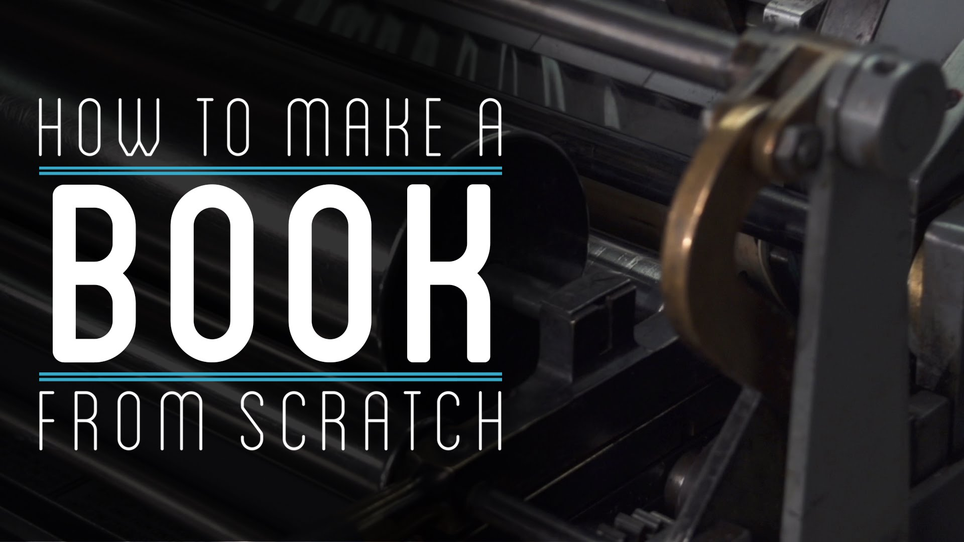 How To Make A Book From Scratch Open Culture