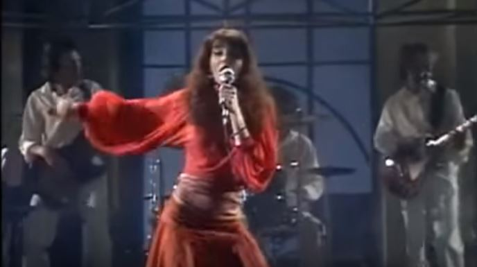 Kate Bush's First Ever Television Appearance, Performing