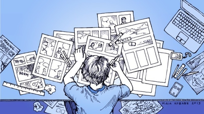 Take A Free Online Course On Making Comic Books