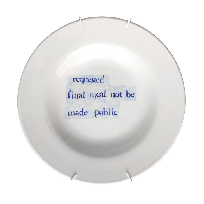 Final Meal Not Made Public