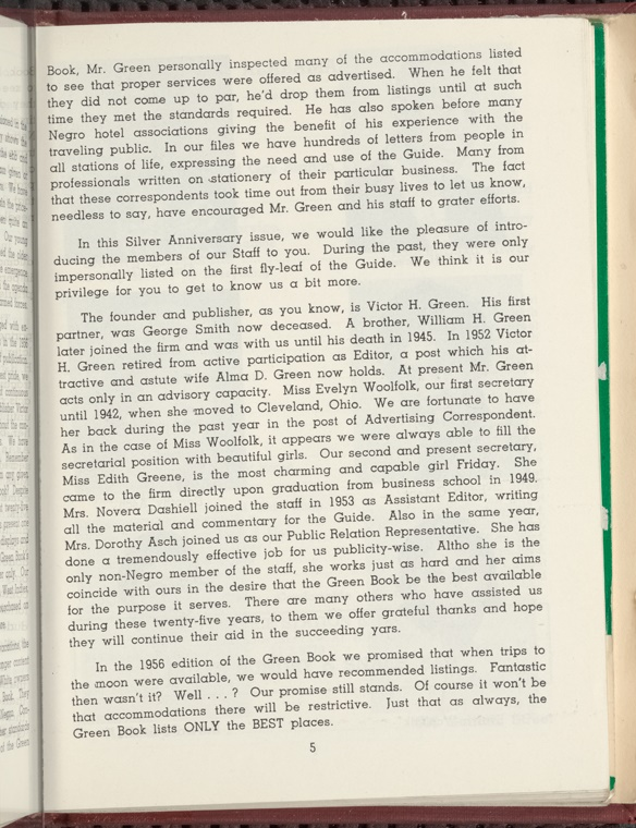 Green Book Pg 5