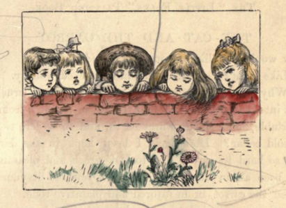 the very first coloring book the little folks painting book circa 1879 open culture