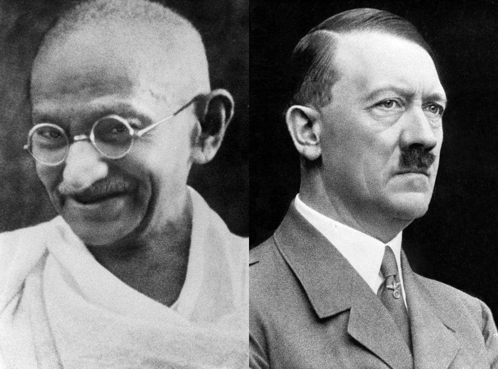 Gandhi Hitler