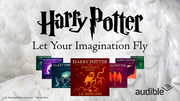 harry potter free audible