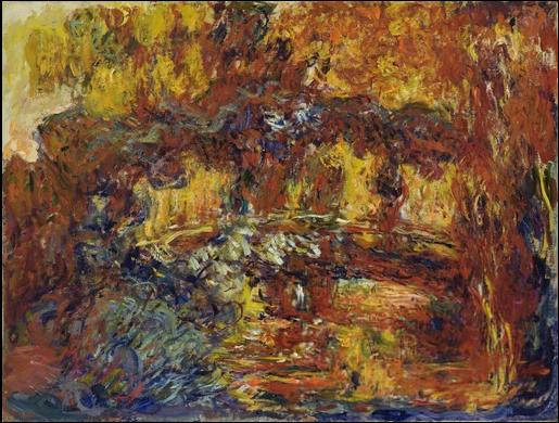 Monet Japanese Footbridge 1920