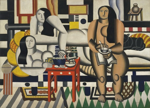 three women by leger