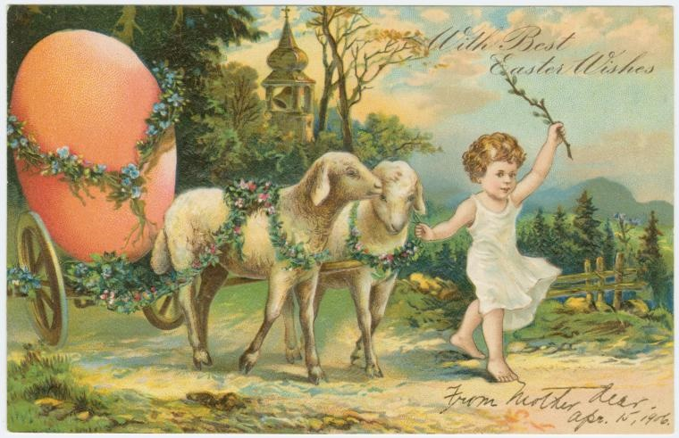 Download Beautiful Free Vintage Easter Cards From The New York