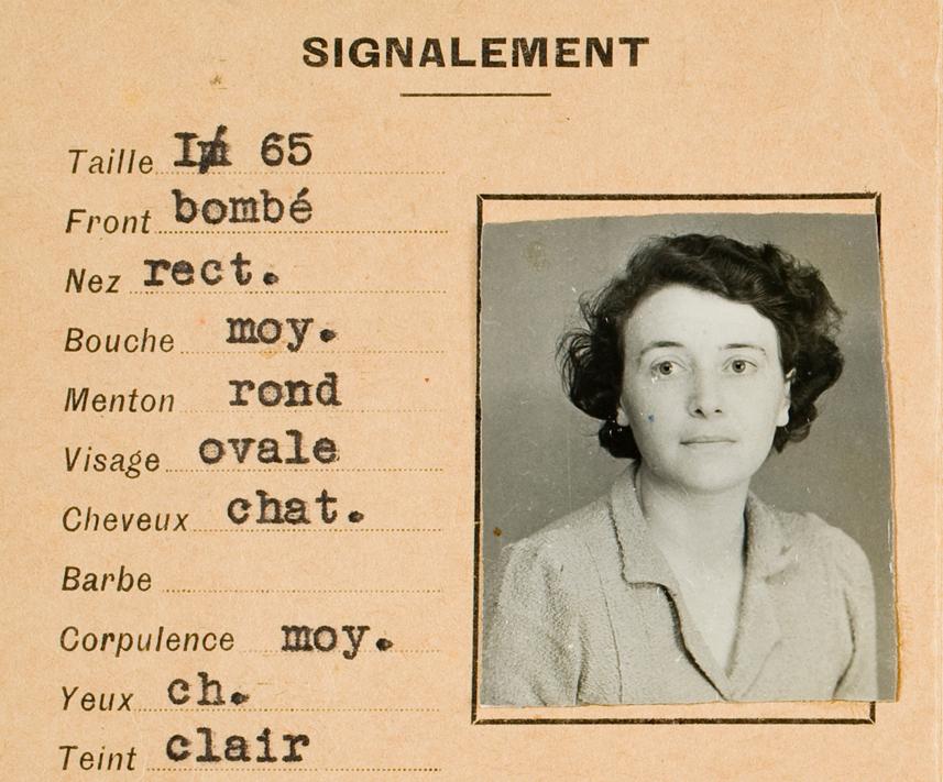 Eileen Orwell ID Card