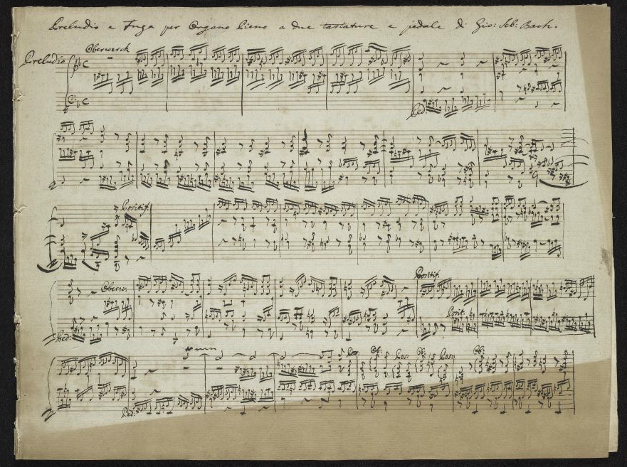 Free: Download 500+ Rare Music Manuscripts by Mozart, Bach, Chopin