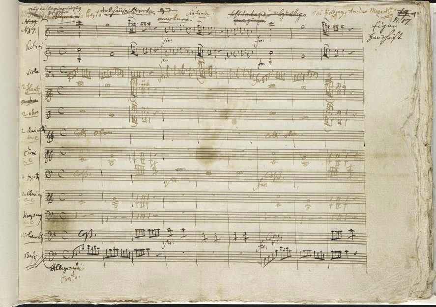 All Music Chords online sheet music download : Free: Download 500+ Rare Music Manuscripts by Mozart, Bach, Chopin ...