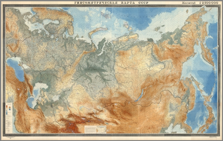 Download 67,000 Historic Maps (in High Resolution) from the Wonderful David Rumsey Map Collection
