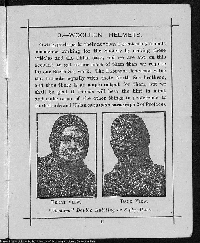 Woollen Helmets