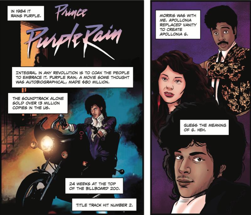 purple rain comic
