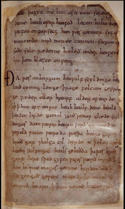 1,000-Year-Old Manuscript of Beowulf Digitized and Now Online ...