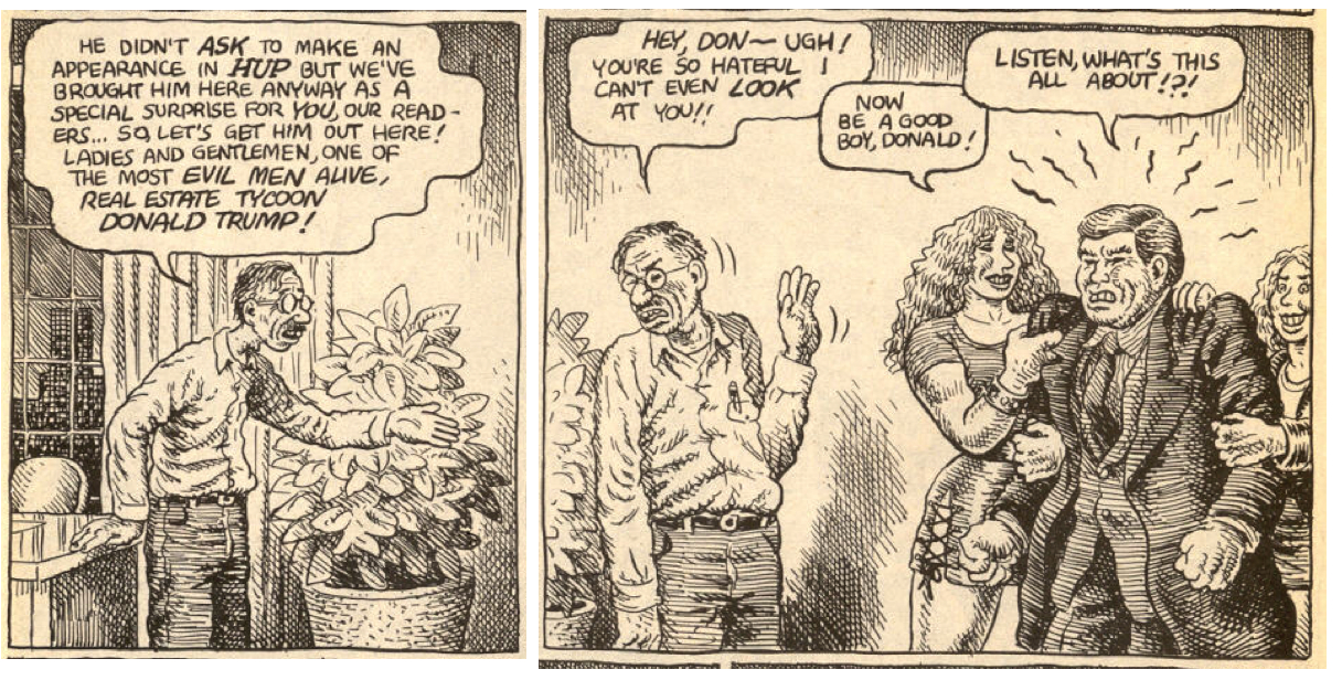 R Crumb, the Father of Underground Comix, Takes Down Donald Trump in