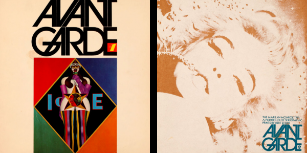 avant garde magazine digitization